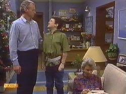 Jim Robinson, Lucy Robinson, Helen Daniels in Neighbours Episode 0632