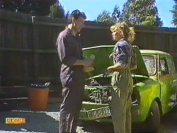 Tony Romeo, Charlene Mitchell in Neighbours Episode 0632