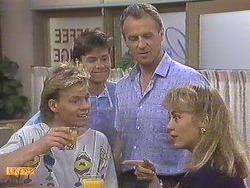 Scott Robinson, Mike Young, Jim Robinson, Jane Harris in Neighbours Episode 0633