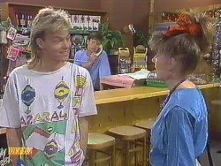 Scott Robinson, Mike Young, Melanie Pearson in Neighbours Episode 0633