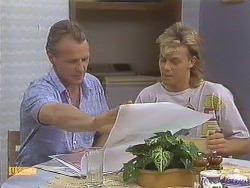 Jim Robinson, Scott Robinson in Neighbours Episode 0633
