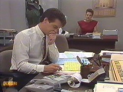 Paul Robinson, Gail Robinson in Neighbours Episode 0634