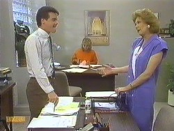 Paul Robinson, Jane Harris, Madge Bishop in Neighbours Episode 0635