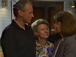 Jim Robinson, Helen Daniels, Beverly Marshall in Neighbours Episode 0636