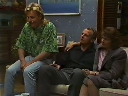 Scott Robinson, Jim Robinson, Beverly Marshall in Neighbours Episode 0636