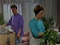 Paul Robinson, Gail Robinson in Neighbours Episode 0636