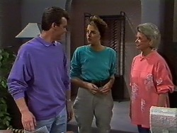 Paul Robinson, Gail Robinson, Helen Daniels in Neighbours Episode 0636