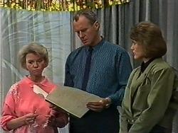 Helen Daniels, Jim Robinson, Beverly Marshall in Neighbours Episode 0636