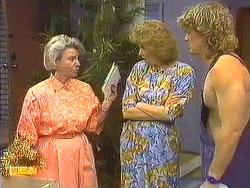 Helen Daniels, Madge Ramsay, Henry Ramsay in Neighbours Episode 0638