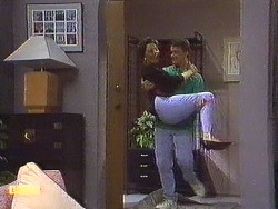 Gail Robinson, Paul Robinson in Neighbours Episode 0638