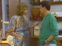 Madge Bishop, Paul Robinson in Neighbours Episode 0638