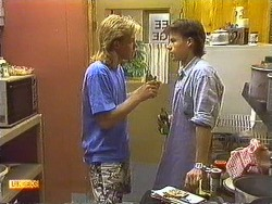 Scott Robinson, Mike Young in Neighbours Episode 0638
