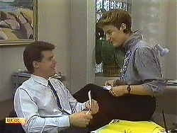 Paul Robinson, Gail Robinson in Neighbours Episode 0638