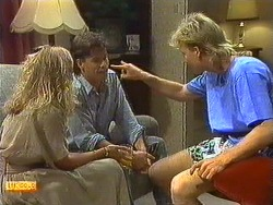 Jane Harris, Mike Young, Scott Robinson in Neighbours Episode 0639