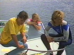 Mike Young, Jane Harris, Scott Robinson in Neighbours Episode 0639