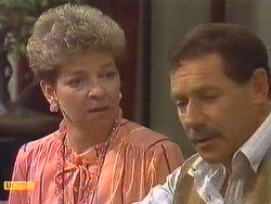 Eileen Clarke, Malcolm Clarke in Neighbours Episode 0639
