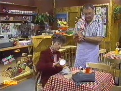 Nell Mangel, Harold Bishop in Neighbours Episode 0640