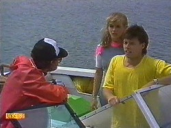 Boatman, Jane Harris, Mike Young in Neighbours Episode 0640