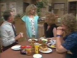 Harold Bishop, Charlene Robinson, Madge Ramsay, Henry Ramsay in Neighbours Episode 0641