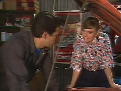 Tony Romeo, Sally Wells in Neighbours Episode 0641