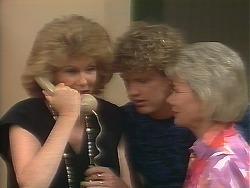 Madge Bishop, Henry Ramsay, Helen Daniels in Neighbours Episode 0641
