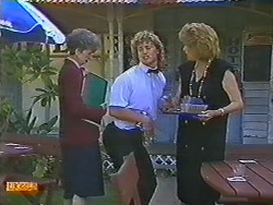 Nell Mangel, Henry Ramsay, Madge Bishop in Neighbours Episode 0642