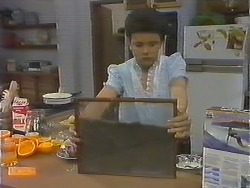 Lucy Robinson in Neighbours Episode 0643