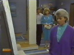 Henry Ramsay, Madge Ramsay, Helen Daniels in Neighbours Episode 0643
