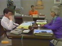 Paul Robinson, Gail Robinson, Helen Daniels in Neighbours Episode 0643