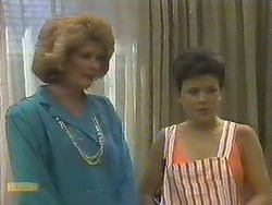 Madge Ramsay, Lucy Robinson in Neighbours Episode 0643