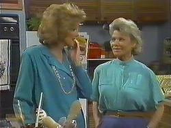 Madge Ramsay, Helen Daniels in Neighbours Episode 0643
