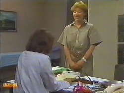 Beverly Marshall, Receptionist in Neighbours Episode 0644
