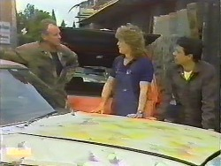 Jim Robinson, Henry Ramsay, Tony Romeo in Neighbours Episode 0644