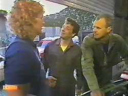 Henry Ramsay, Tony Romeo, Jim Robinson in Neighbours Episode 0644