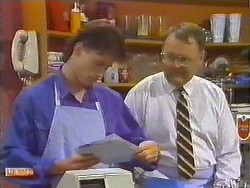 Mike Young, Harold Bishop in Neighbours Episode 0644