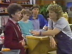 Nell Mangel, Sally Wells, Mike Young, Henry Ramsay in Neighbours Episode 0645