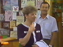Eileen Clarke, Malcolm Clarke in Neighbours Episode 0645