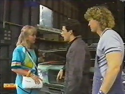 Jane Harris, Tony Romeo, Henry Ramsay in Neighbours Episode 0645