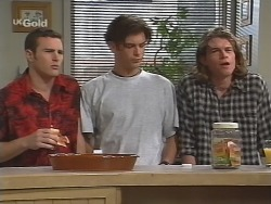 Stonie Rebecchi, Malcolm Kennedy, Sonny Hammond in Neighbours Episode 2571