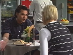 Sam Kratz, Joanna Hartman in Neighbours Episode 2571
