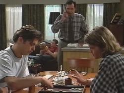 Malcolm Kennedy, Stonie Rebecchi, Karl Kennedy, Sonny Hammond in Neighbours Episode 2571