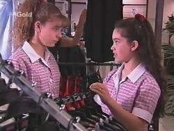 Hannah Martin, Zoe Tan in Neighbours Episode 2572
