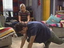 Luke Handley, Joanna Hartman in Neighbours Episode 2574