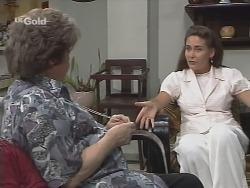 Marlene Kratz, Marilyn Tanno in Neighbours Episode 2576