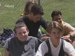 Toadie Rebecchi, Rupert Sprod, Billy Kennedy in Neighbours Episode 2577