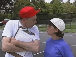 Coach Garfield, Georgia Brown in Neighbours Episode 2577