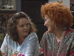 Pam Willis, Cheryl Stark in Neighbours Episode 2577