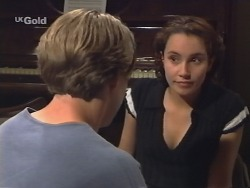 Billy Kennedy, Georgia Brown in Neighbours Episode 2577