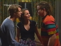 Billy Kennedy, Georgia Brown, Toadie Rebecchi in Neighbours Episode 2578