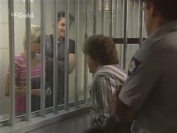 Joanna Hartman, Sam Kratz, Marlene Kratz in Neighbours Episode 2579